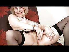 wife solo orgasm : huge pussy, mature older porn
