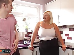 chubby wife tumblr : older couple porn, bbw blowjob
